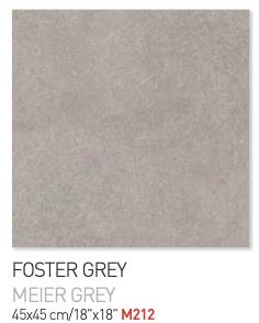 Foster Grey 45by45cm floor tiles