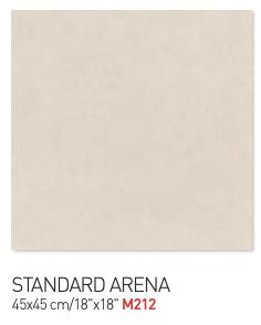 Standard Arena 45by45cm floor tiles