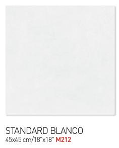 Standard blanco 45by45cm floor tiles