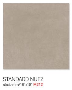 Standard nuez 45by45cm floor tiles