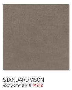 Standard vison 45by45cm floor tiles