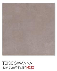 Tokio Savanna 45by45cm floor tiles