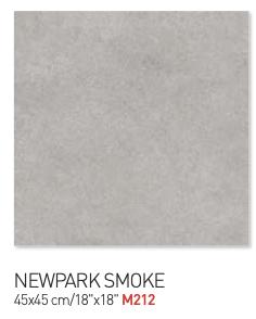 Newpark smoke 45by45cm floor tiles