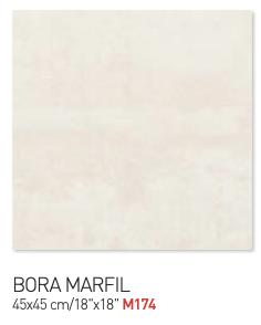 Bora marfil 45by45cm floor tiles