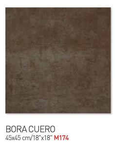 Bora cuero 45by45cm floor tiles