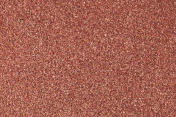 Scarlet red glitter glass plaster