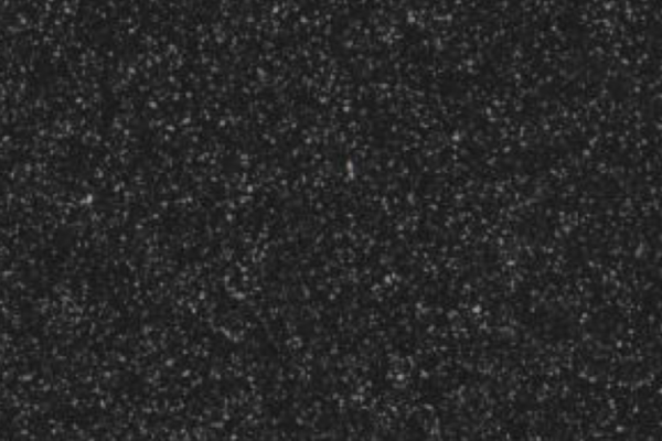 Black glitter glass plaster