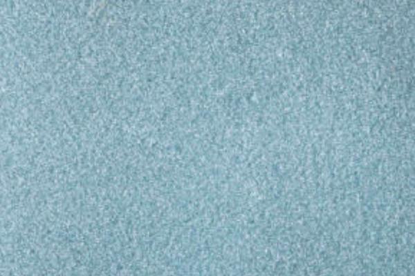 Baby blue glitter glass plaster