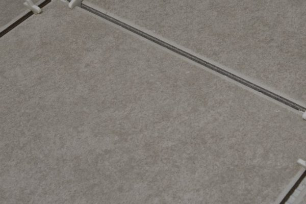 white floor tile spacers
