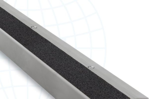 Tile edge strip with black middle