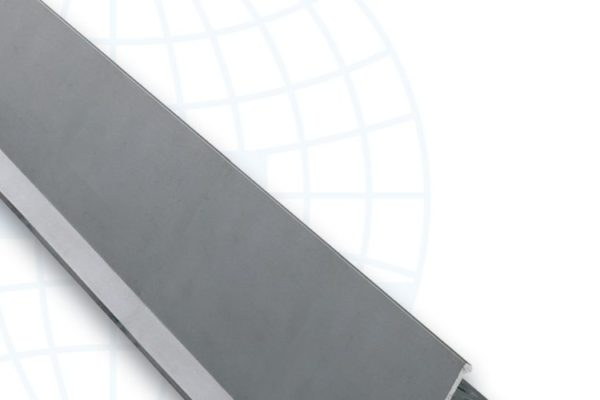 Aluminium tile edge strip