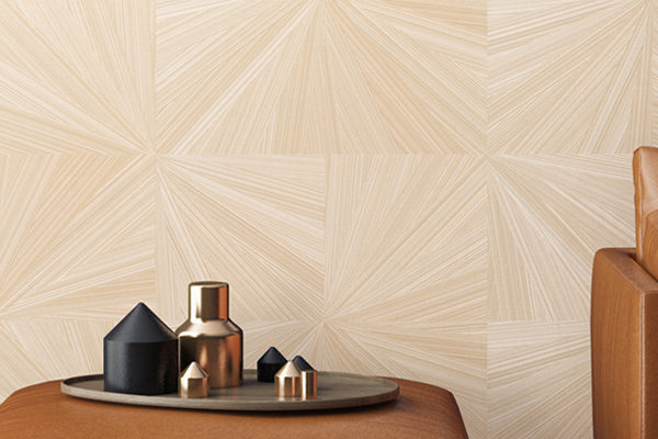 Brown wallpapers with diamond shapes